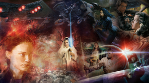 Star Wars Galaxy by Camuska