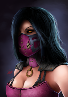 Mileena (remake) by Reillyington86
