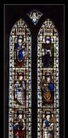 Bakewell Church Window rld 08 by richardldixon