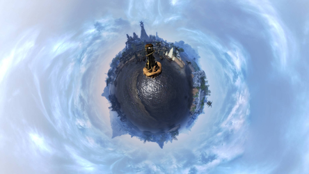 Lyithdonea - Tiny Planet by ericthered1090