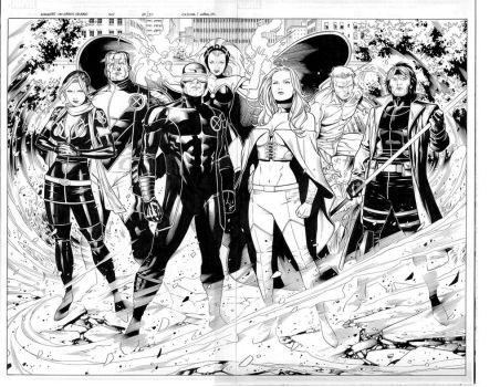childrens crusade 5 spread by MarkMorales