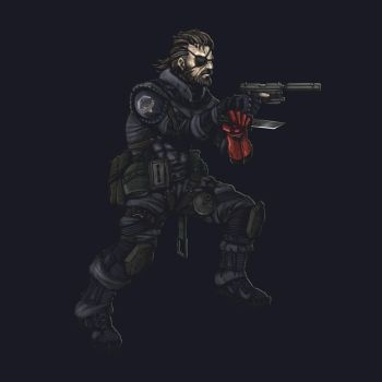 Big Boss - Sneaking Suit by HuntingTown