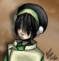 Practice Sketch - Toph by Limaht