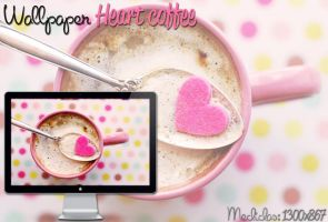 WALLPAPER HEART COFFEE by jessy-izan