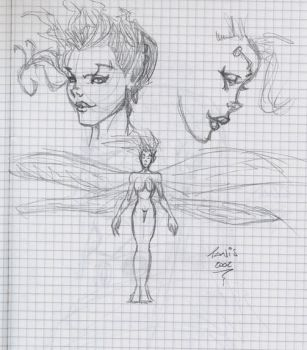 Fairy concept sketches by tanis