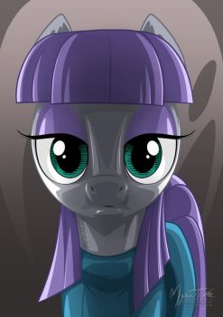 Maud Up Front by mysticalpha