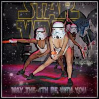 May The 4th Be With You Suicide Girls Star Wars by VisualEyeCandy