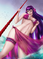 Scathach Assassin - Fate Grand Order by eschata