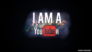 Wallpaper: IM A YOUTUBER by ivaneldeming