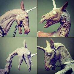 In Progress - Four Horsemen of the Apocalypse by scenceable