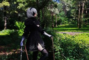 NieR: Automata - 2B by Katy-Angel