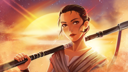 Rey by OlchaS