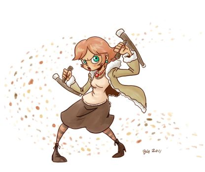 Tonfa is such a girley weapon by BG87