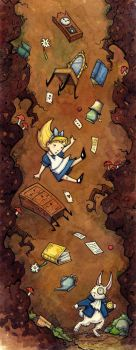 Alice Falling by CorinneRoberts