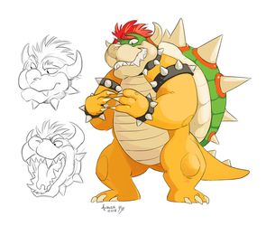 Bowser by GreekCeltic