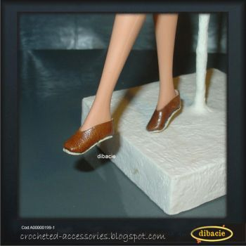 fashion doll leather shoes by dibacie
