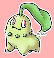 #152 Chikorita by little-ampharos