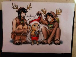 One Piece Christmas by AlexiaRodrigues