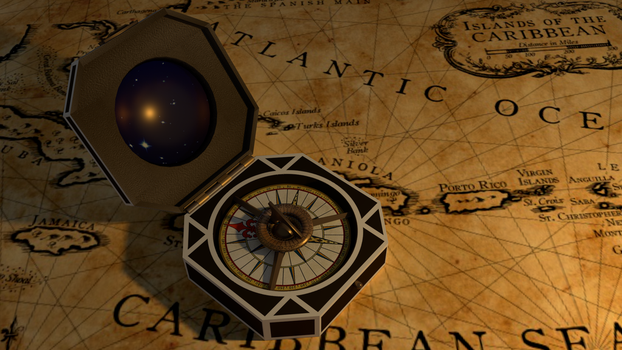 Jack Sparrow's Compass by ResenZhu