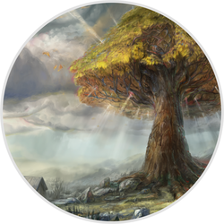 The World Tree WIP by IndianRose
