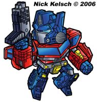 SD Optimus Prime by thisisevermore