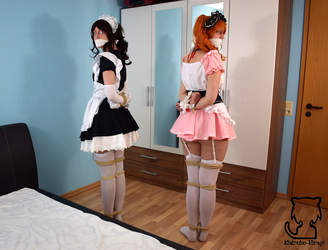 Two maids one problem by Natsuko-Hiragi