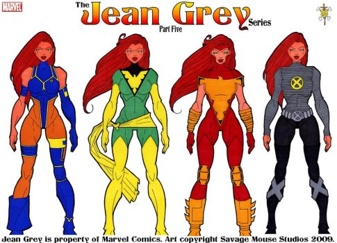 Jean Grey Series: Part Five by SavageMouse