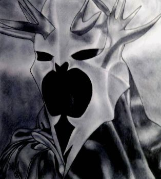 The Witch-king of Angmar (Dark colored Graphite) by Dee-Morgan999
