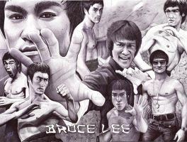 Bruce Lee by ArtisAllan