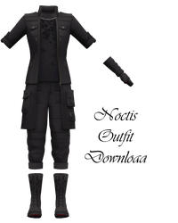 Noctis Outfit Download by LunaSukii