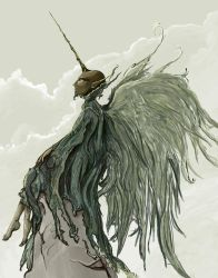 Moss Angel by shadowgirl