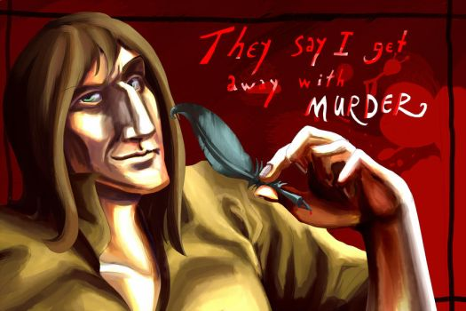 They say I get away with Murder by blue-rooster