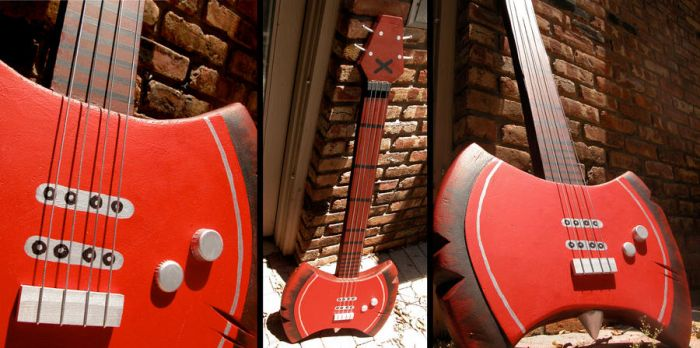 Marceline's Bass Guitar by margo98