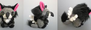 Fuzzy Griffin Plush by WhittyKitty