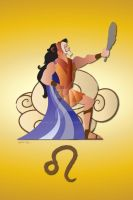 Leo - Hercules and Scar by AmadeuxWay