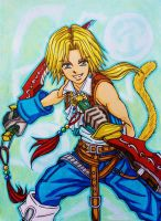 Dissidia Final Fantasy NT: Zidane Tribal by dagga19