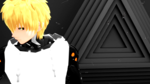 MMD/One Punch Man 60fps - Ass On The Floor [Genos] by TKGhoul-NaruSaku