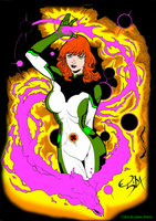 All New X-men Jean Grey by Ed Silva by marvelboy1974