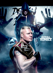 WWE Royale Rumble 2018 Poster  Lesnar Vs Balor by workoutf
