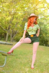 Jessica Rabbit: Only You Can Prevent Forest Fires by MomoKurumi