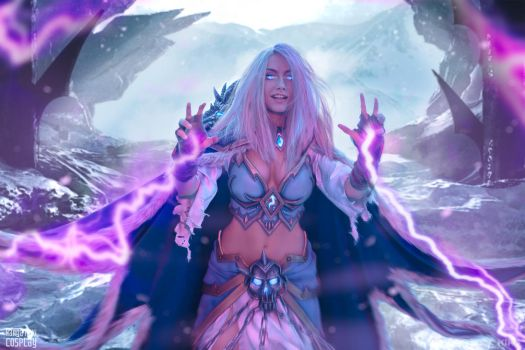 Frost Lich Jaina V by Narga-Lifestream