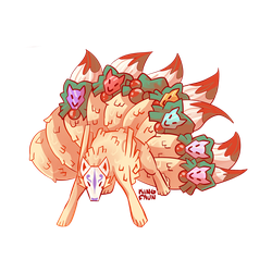 Ninetails by faundly