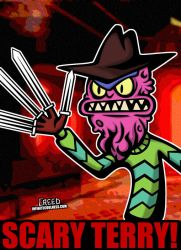 Cartoon Villains - 098 - Scary Terry! by CreedStonegate