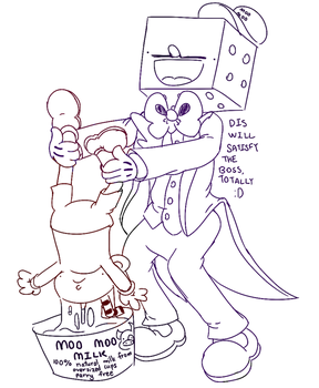 Best Cuphead Au To Ever Exist by OrigamiHound