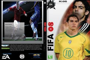 My FIFA 08 DVD Cover by Natyvw