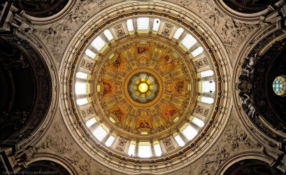 Dome of the Berlin Cathedral by pingallery