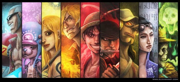 StrawHat Pirates by InmortalKhan