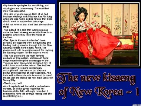The new kisaeng of New Korea - 1 by p-l-richards