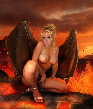 So hot Succubus II by Dave Hammond by FueledbypartII