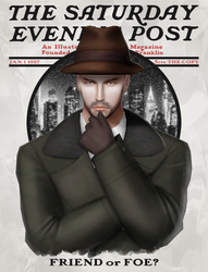 The Saturday Evening Post in Sims4 by tolknam